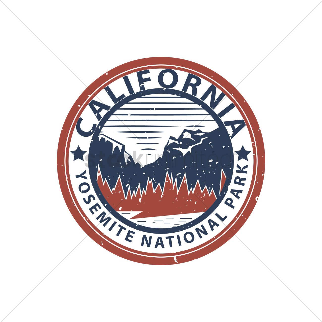 Yosemite National Park Vector Image 1567626 Stockunlimited