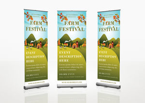 Farm : Roll-Up Banner Template