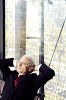 Popular : Businessman sitting and thinking