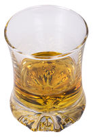 Close-up of a glass of whiskey