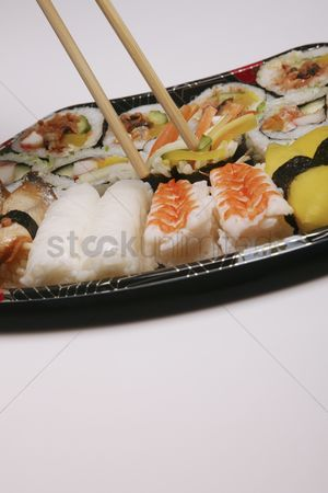 Sets : A plate of sushi set