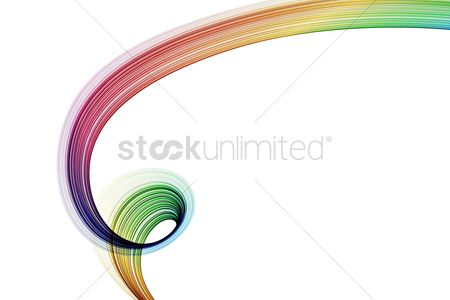 Background abstract : Abstract design with multi-colored lines