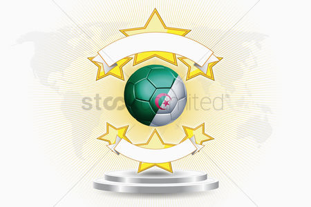 Nationality : Algeria soccer ball emblem