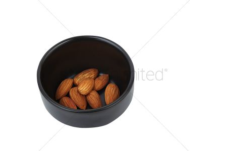 Almond : Almonds in a cup