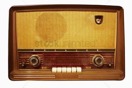 Creativity : Antique radio on display