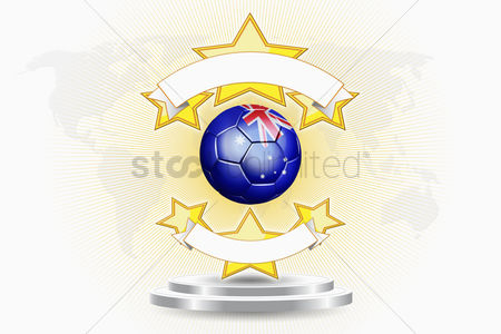 Nationality : Australia soccer ball emblem