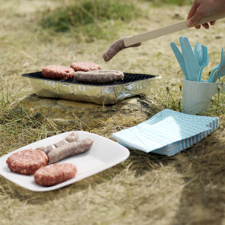 Sausage : Barbeque by the beach side