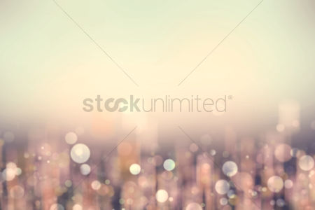 Beautiful : Bokeh background design