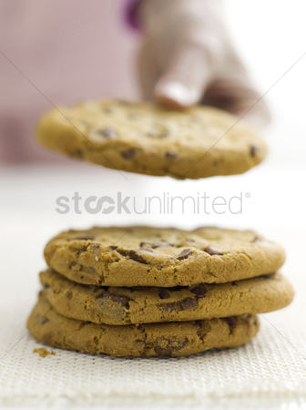 Food  beverage : Chocolate chip cookies