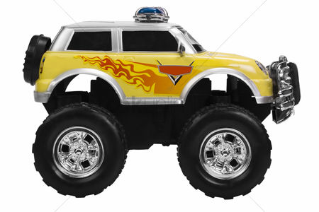Truck : Close-up of a toy monster truck