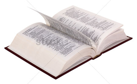 Religion : Close-up of the open bible