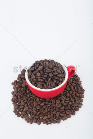 Strong : Coffee beans in a cup