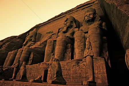 Attraction : Colossi of ramses ii great temple of ramses ii abu simbel unesco world heritage site egypt