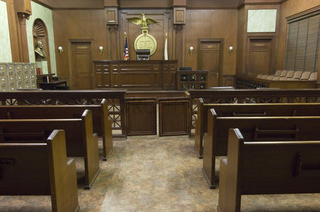 Flag : Court room seating