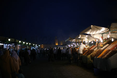Shopping : Crowded night market
