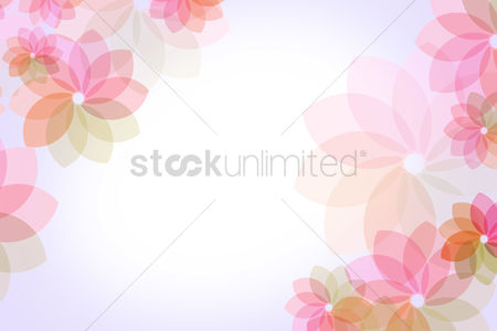 Beautiful : Floral background design