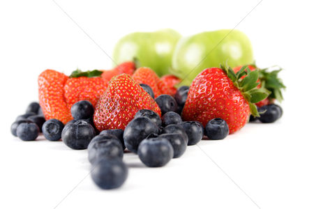 Black background : Fruit composition