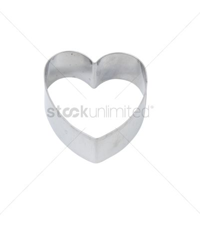 Heart shapes : Heart shaped cookie cutter