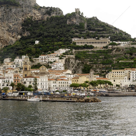 Transportation : Hill town in amalfi