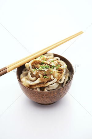 Ready to eat : Knife-sliced noodles
