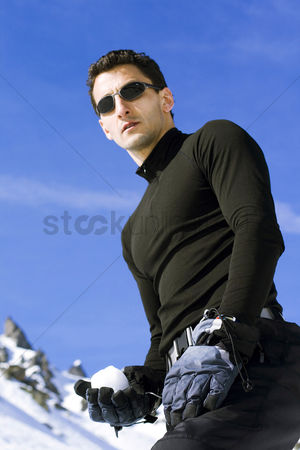 Coldness : Man in sunglasses