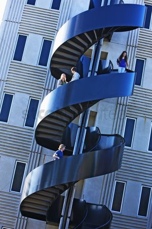 Steps : Modern staircase on university campus
