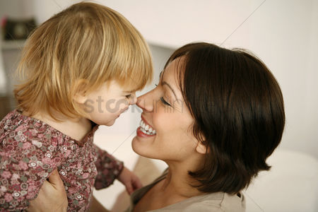 Enjoying : Mother and daughter having fun