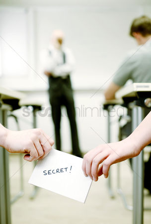 Ignorance : Passing secret message in class