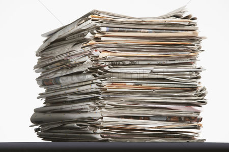 Pile : Pile of waste paper
