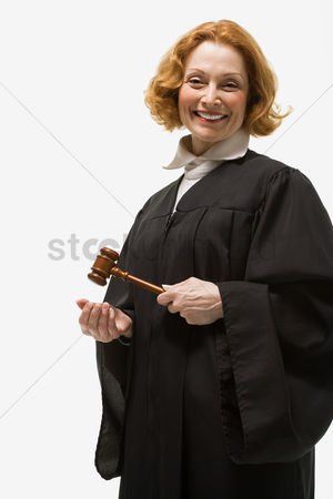 Respect : Portrait of a female judge