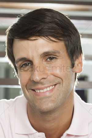 Proud : Portrait of hispanic man