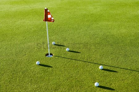 Flag : Putting green