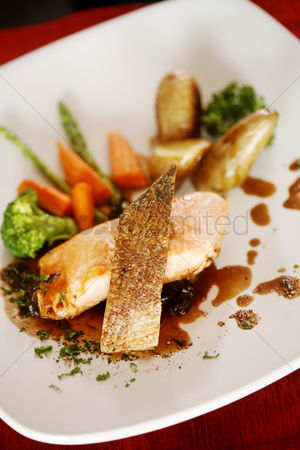 Appetite : Roasted atlantic salmon