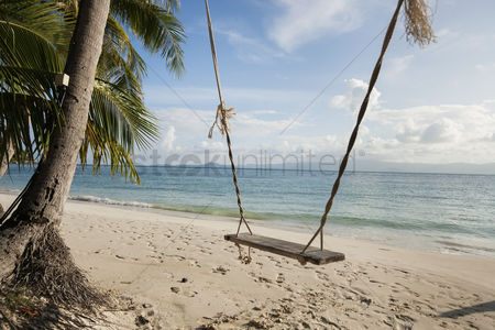 Rope : Rope swing on beach koh pha ngan thailand