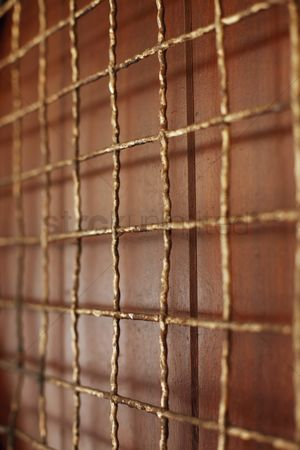 Weathered : Rusty iron grid