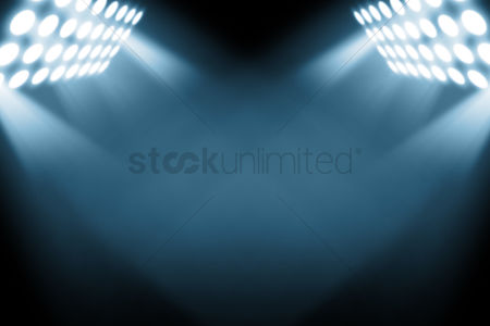 Creativity : Spotlight rays background