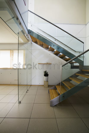 Steps : Stairway in modern house
