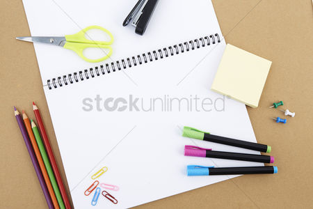 Blank : Stationery set