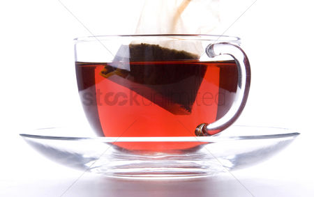 Refreshment : Teabag in a cup of tea