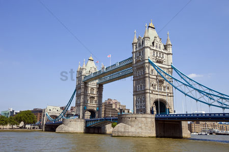 England : Tower bridge in london