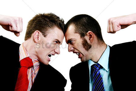 Two people : Two businessmen arguing