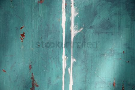 No people : Wall with faded paint
