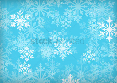 Blue background : Winter season background