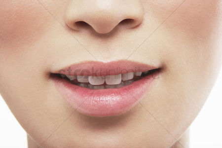 Beauty : Woman s mouth