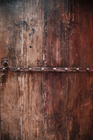 No people : Wooden door